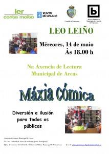 Leo Leiño Cartel biblioteca