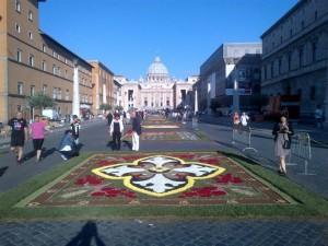 Alfombra Roma 2014