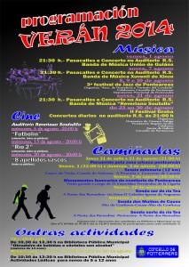 verán 2014-cartel