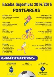 ESCOLAS DEPORTIVAS 14-15