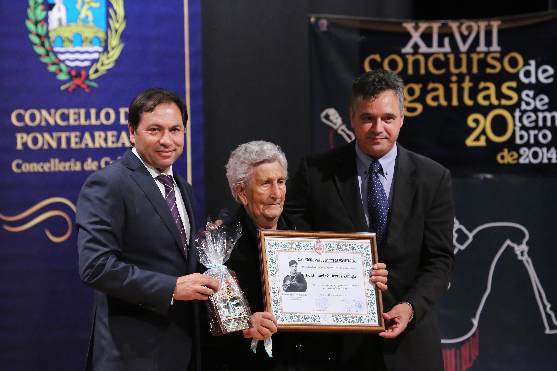 homenaxe a título póstumo a don Manuel Gutiérrez Zúñiga