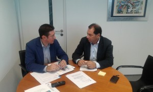 reunión do alcalde co xefe territorial 2014