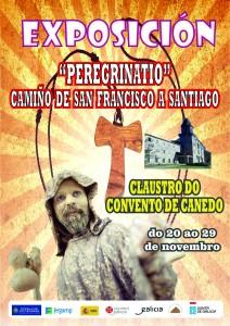 cartel exposición peregrinatio