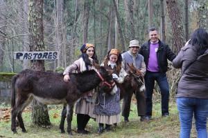 o Concelleiro de Cultura cos pastores