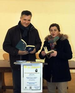 O concelleiro de Cultura nun momento da lectura pública