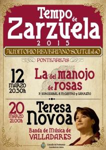 CARTEL TERESA NOVOA-MANOJO DE ROSAS