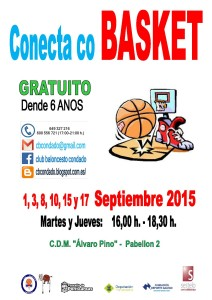2015 8 Conecta co Basket Poster 3