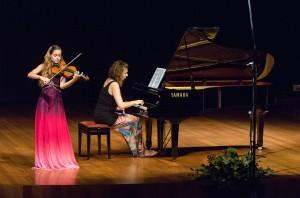 concurso de violíns