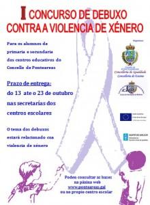 cartel-consurso-debuxo-violencia-xenero