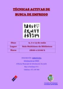 TÉCNICAS ACTIVAS DE BUSCA DE EMPREGO 2016