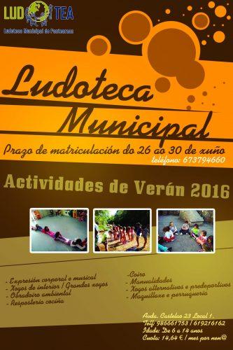cartaz ludoteca