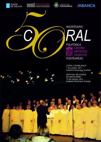 cartaz 01-10-2016 50 aniversrio coral esportivo