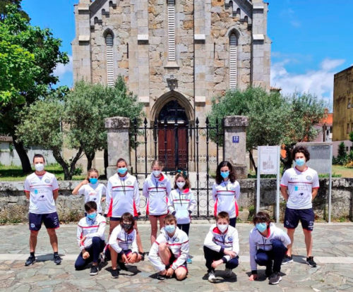 Sete ouros para o CN Ponteareas no Campionato Galego Alevín de Verán