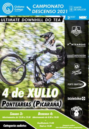 A Picaraña será o escenario do Campionato Galego de Descenso BTT, a proba máis importante da tempada