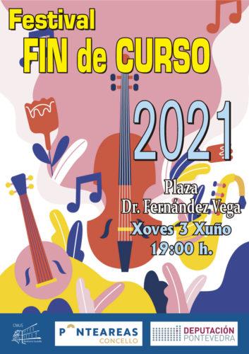 O Conservatorio Municipal de Música festexa o seu fin de curso cun concerto ao aire libre para todos os públicos