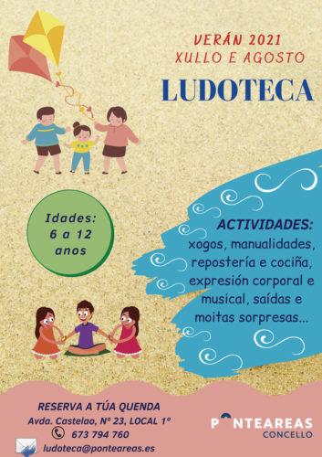 A ludoteca municipal abre as súas portas para pasar un verán cheo de aventuras e diversión