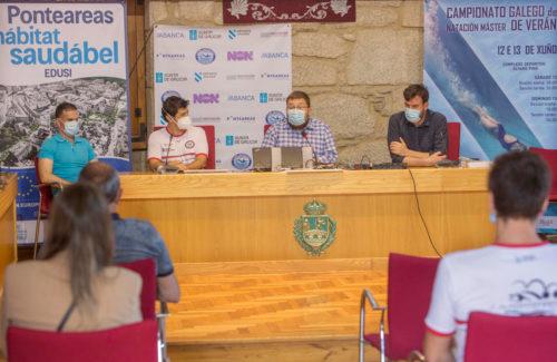 Ponteareas acolle o Campionato Galego Máster de natación de verán, única cita autonómica desta categoría da tempada