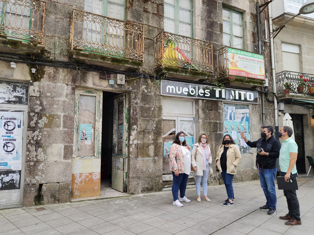 Ponteareas contrata a redacción do proxecto de reforma do novo edificio municipal na Praza Maior