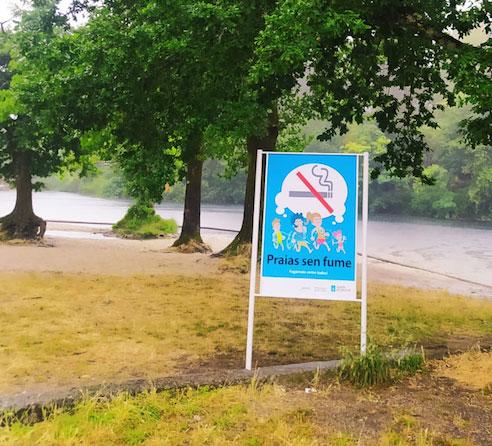 Ponteareas adhírese á rede galega de 'Praias sen fume'