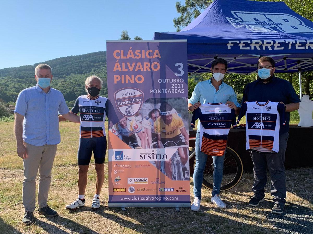 A Clásica Álvaro Pino presenta o seu maillot oficial