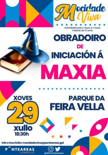 O programa Mocidade Viva busca aprendices de maxia