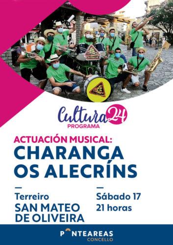 O Cultura24 leva aos Alecríns San Mateo de Oliveira