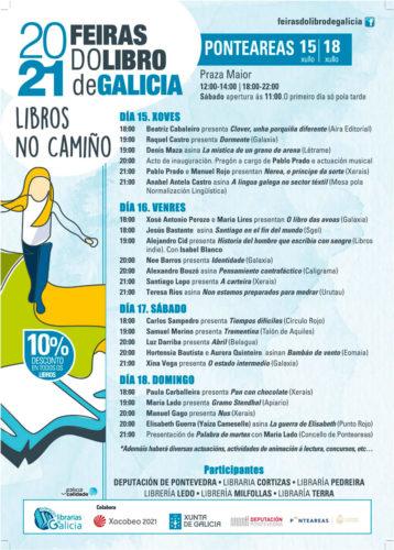 A Feira do Libro chega a Ponteareas con 22 propostas e unha morea de actividades para todos os públicos