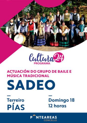 O GBMT Sadeo leva o baile e a música tradicional a Pías ao abeiro do programa Cultura24