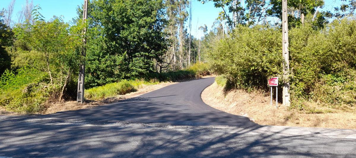 San Amaro xa conta con estradas renovadas