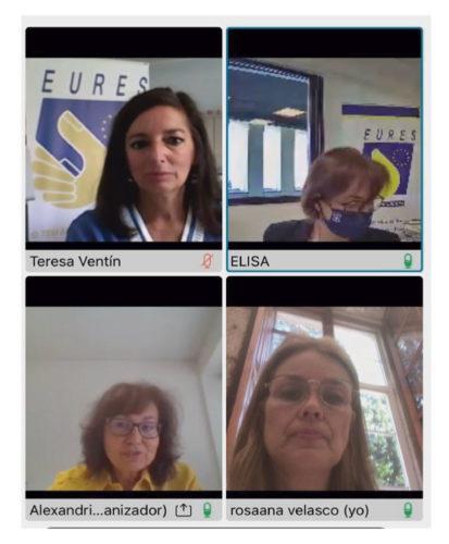 Ponteareas continúa traballando man a man coa Rede de Colaboradores do EURES Transfronteirizo Norte Portugal-Galicia