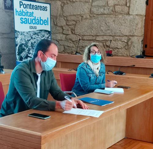Ponteareas promove a primeira liña de transporte público colectivo dende o rural ao Centro de Saúde