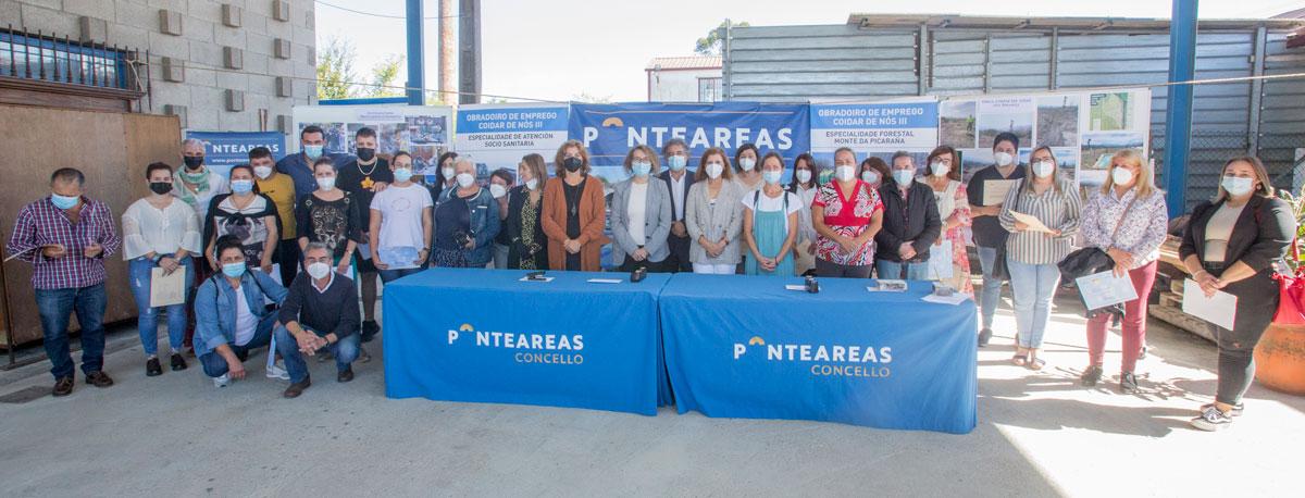 140 veciños de Ponteareas e As Neves recibiron formación en emprego dual dende 2015