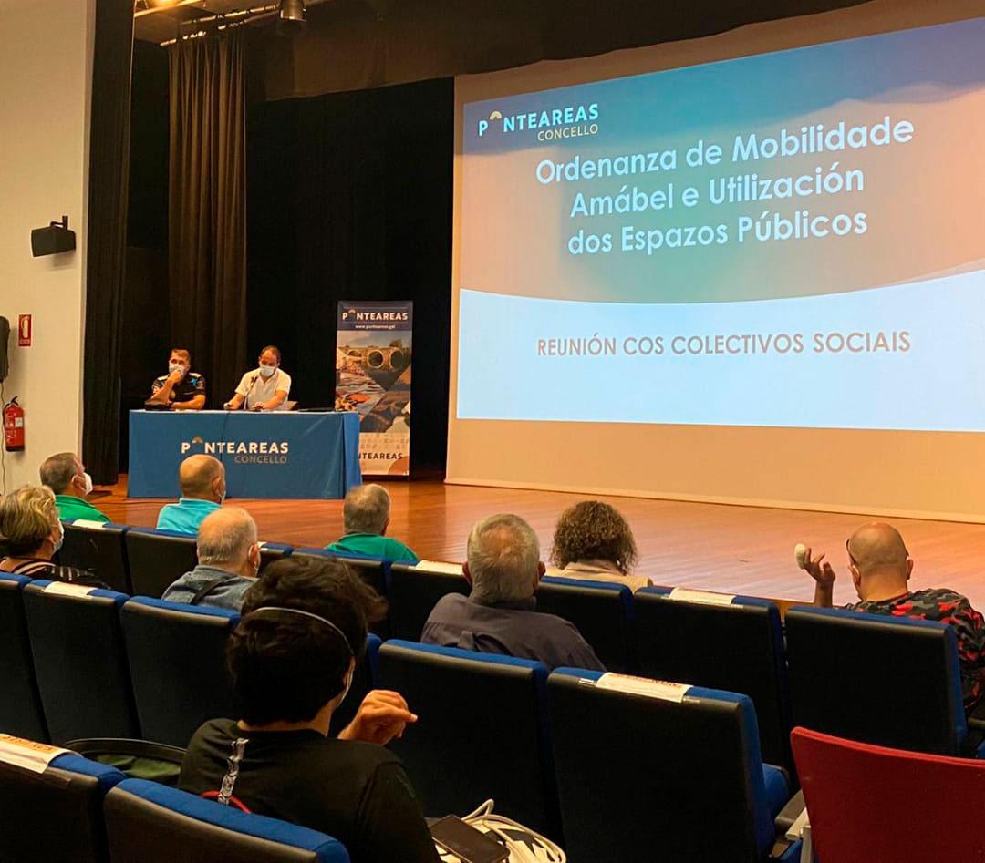 Ponteareas abre o prazo para a presentación de suxestións á futura ordenanza de mobilidade amábel e utilización dos espazos públicos